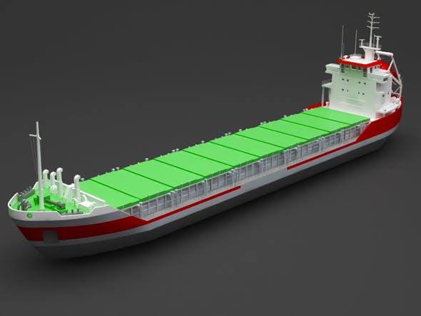 cargo ship - 3DOcean Item for Sale
