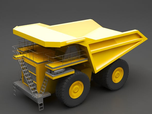 Dump truck - 3DOcean Item for Sale