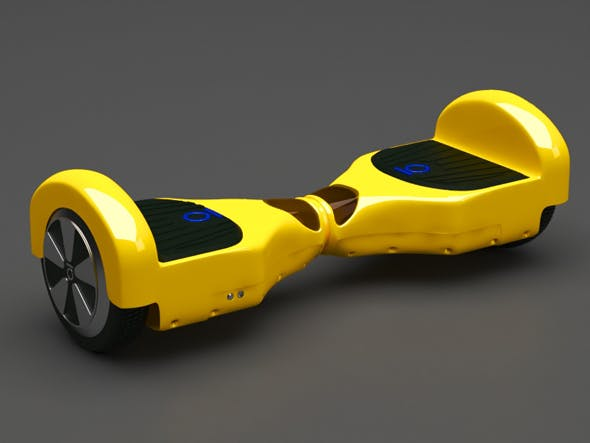 Hoverboard - 3DOcean Item for Sale
