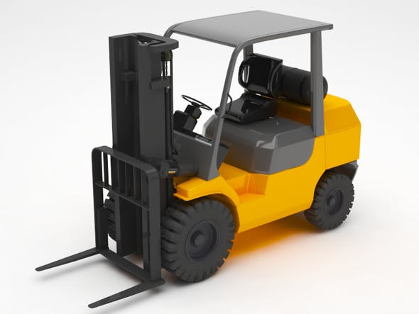 lifting truck - 3DOcean Item for Sale