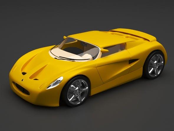 lotus car - 3DOcean Item for Sale