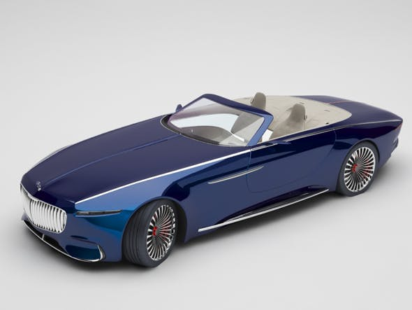 mercedes maybach - 3DOcean Item for Sale