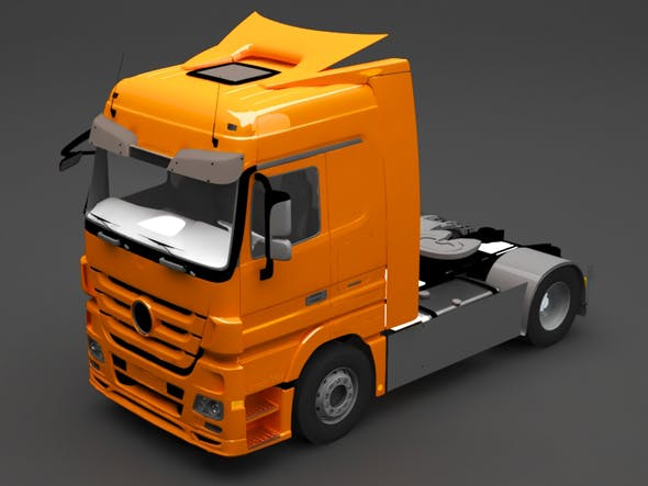 mercedes truck - 3DOcean Item for Sale