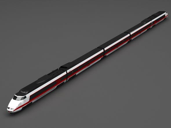 TGV train - 3DOcean Item for Sale
