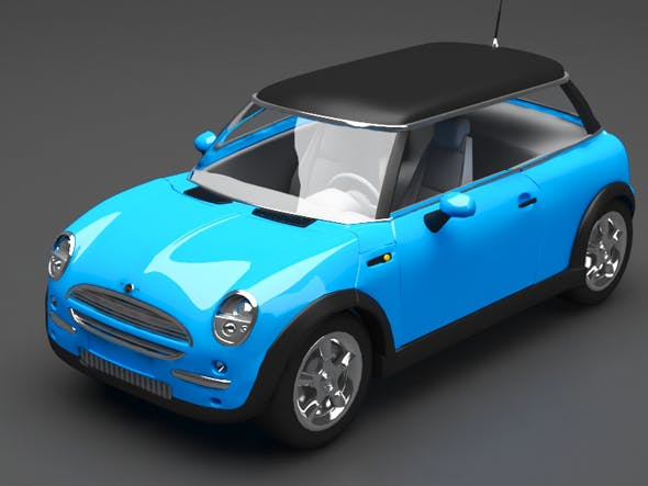 Minicooper - 3DOcean Item for Sale