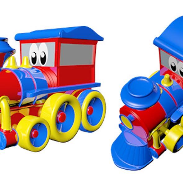 Train Toy Cartoon
