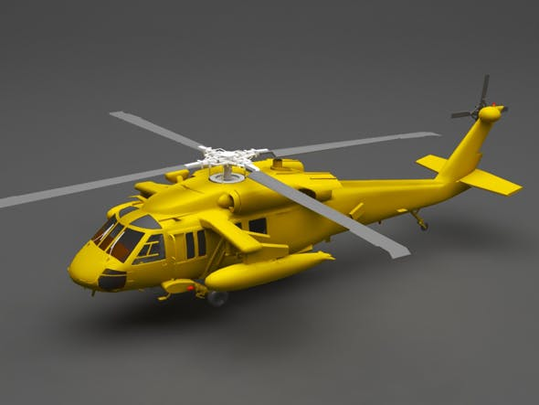 Helicopter - 3DOcean Item for Sale