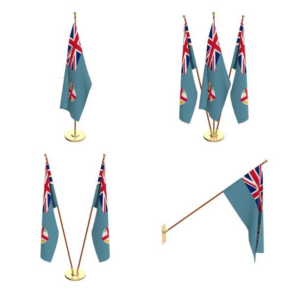 Fiji Flag Pack - 3DOcean Item for Sale