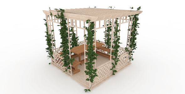Pergola - 3DOcean Item for Sale