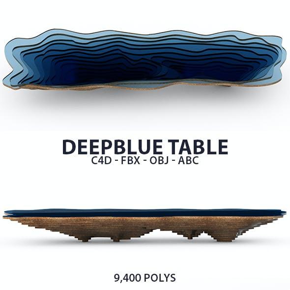 DeepBlue Table 3D Model