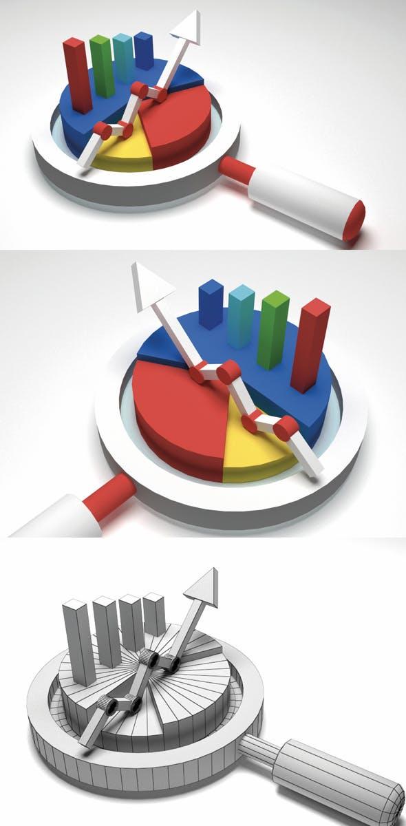 Data Analysis 3d - 3DOcean Item for Sale