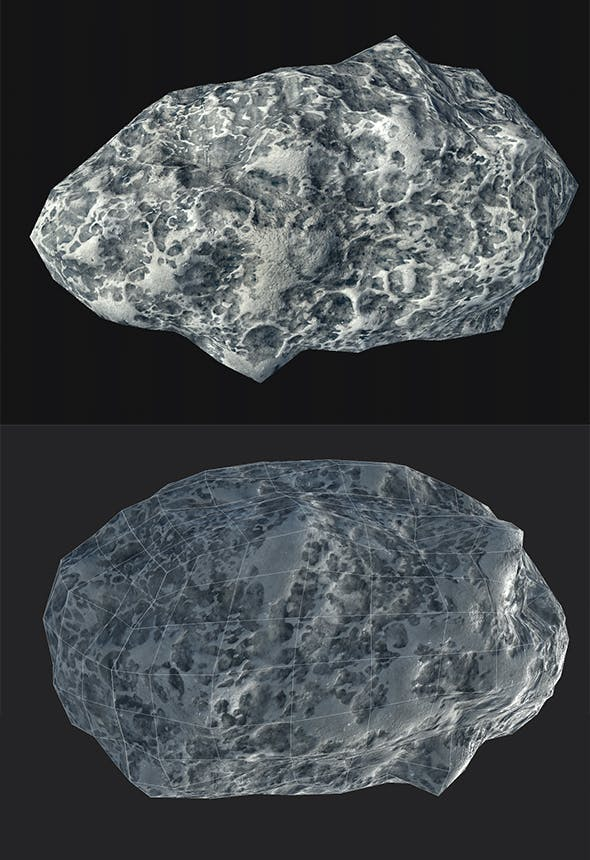 asteroid v4 - 3DOcean Item for Sale