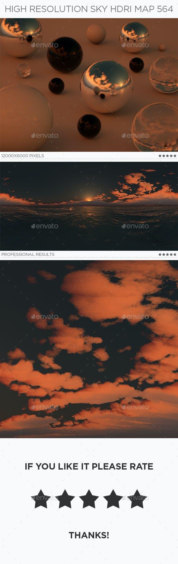 High Resolution Sky HDRi Map 564 - 3DOcean Item for Sale