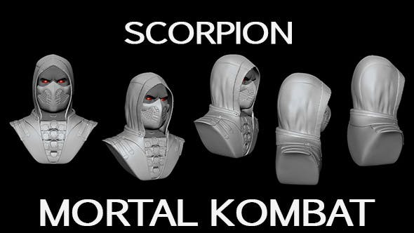 MORTAL KOMBAT SCORPION - 3DOcean Item for Sale