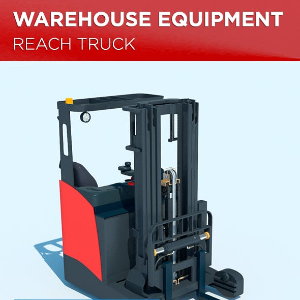 Warehouse Equipment: Reach Truck