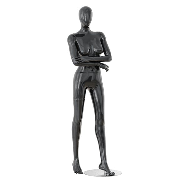Faceless woman mannequin 36