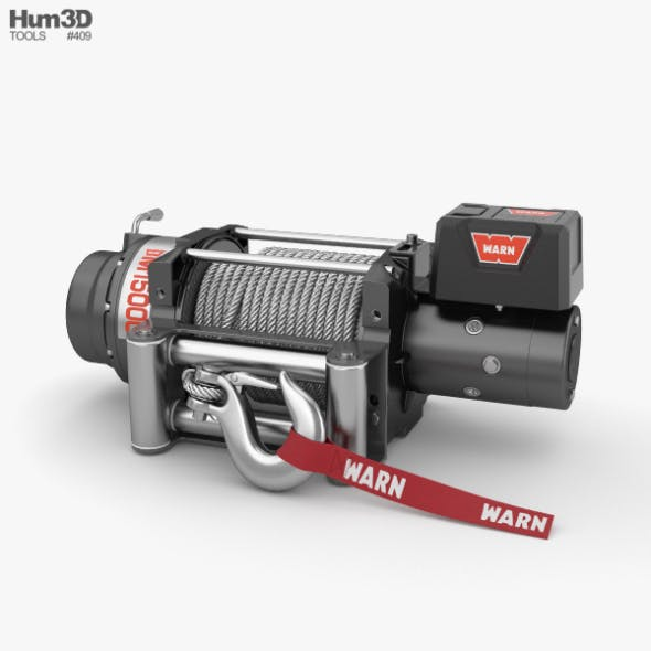 Winch - 3DOcean Item for Sale