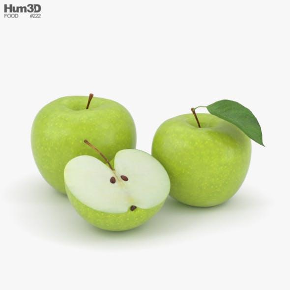 Green Apple - 3DOcean Item for Sale