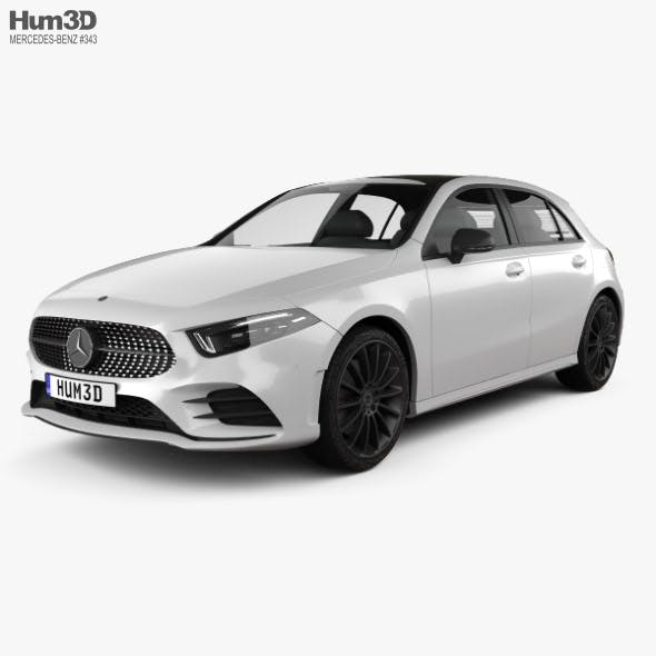 Mercedes-Benz A-class (W177) AMG Line 2018 - 3DOcean Item for Sale