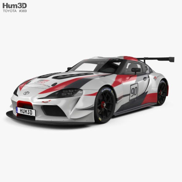 Toyota Supra Racing 2018 - 3DOcean Item for Sale