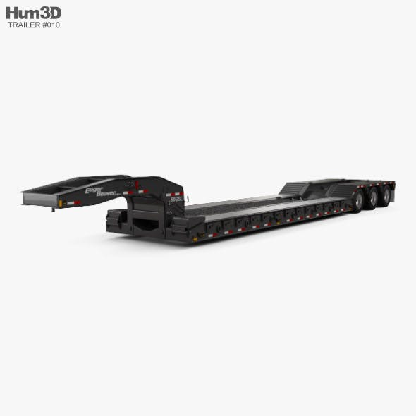Eager Beaver 50 GSL-3 Semi Trailer 2018 - 3DOcean Item for Sale