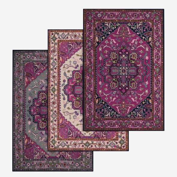 Rug Set 52 - 3DOcean Item for Sale