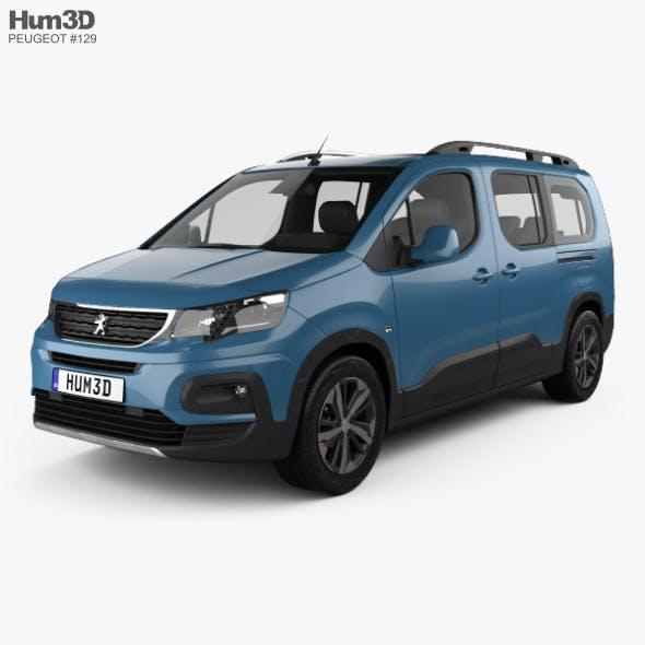 Peugeot Rifter Long 2018 - 3DOcean Item for Sale