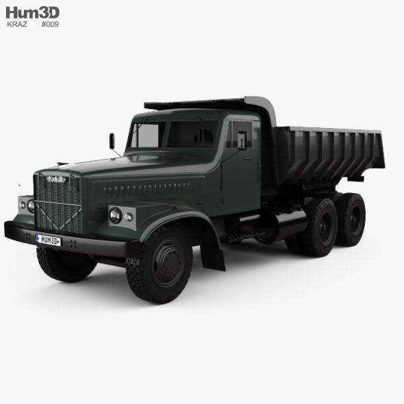 KrAZ 256B Dump Truck 1966 - 3DOcean Item for Sale