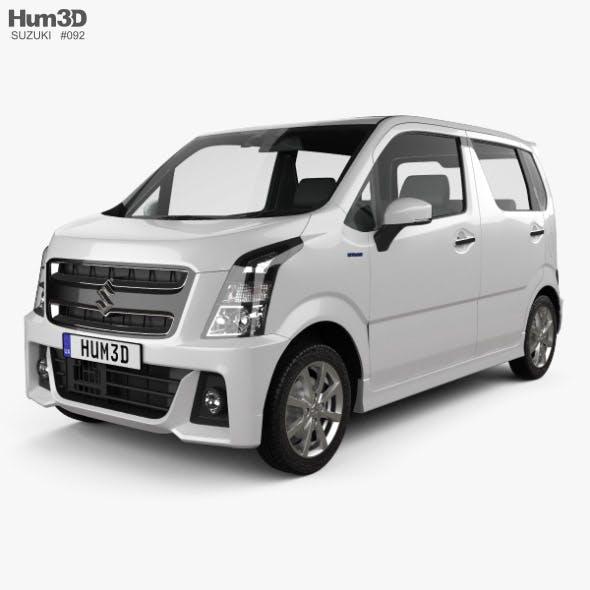 Suzuki Wagon R Stingray Hybrid 2018 - 3DOcean Item for Sale