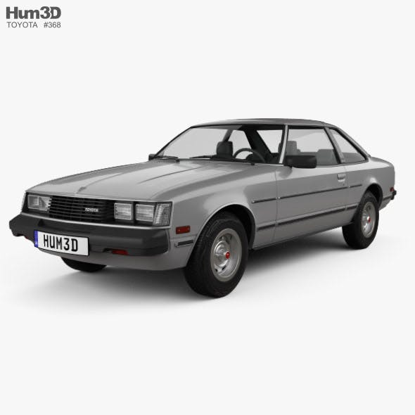 Toyota Celica ST Coupe 1979 - 3DOcean Item for Sale