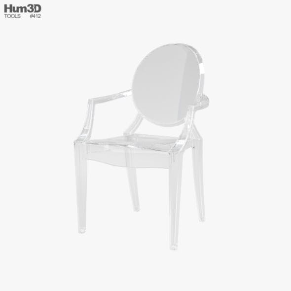 Ghost Chair - 3DOcean Item for Sale