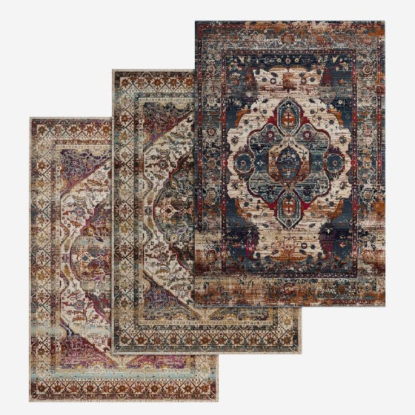 Rug Set 56 - 3DOcean Item for Sale