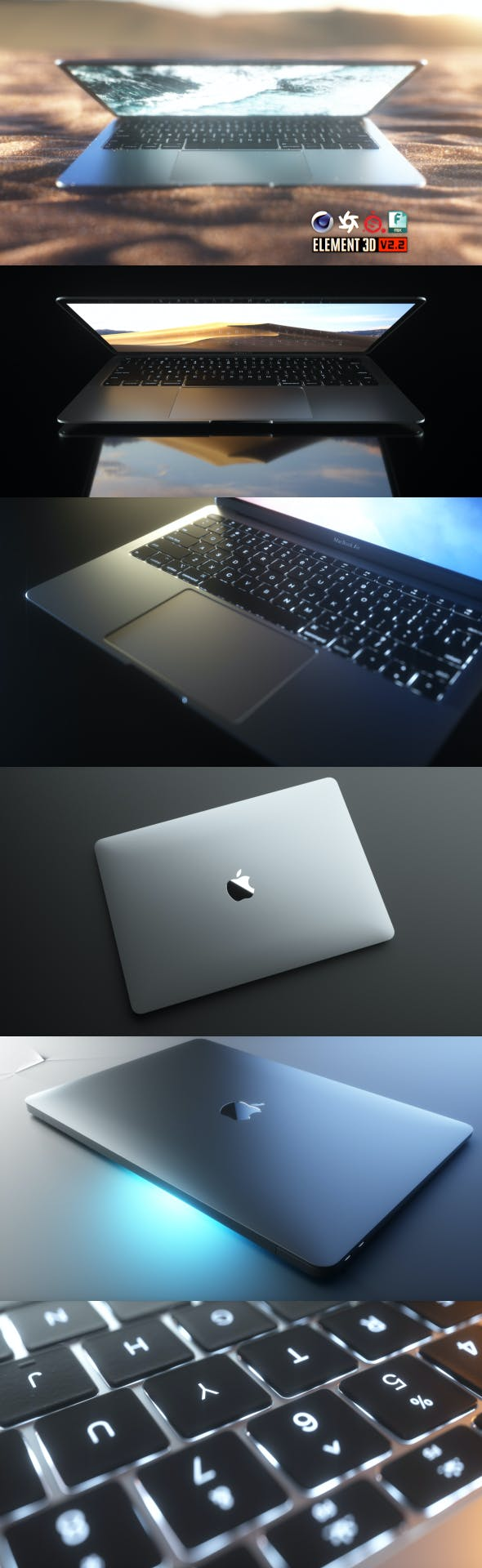MacBook Air 2018 - 3DOcean Item for Sale