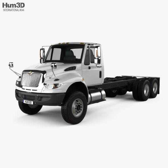 International Durastar 4400 SBA Chassis Truck 2011