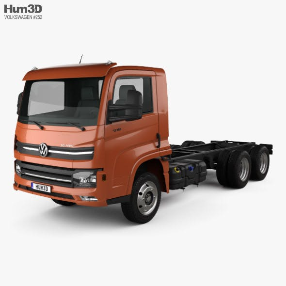 Volkswagen Delivery (13-180) Chassis Truck 3-axle 2017 - 3DOcean Item for Sale