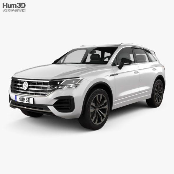 Volkswagen Touareg R-Line 2018 - 3DOcean Item for Sale