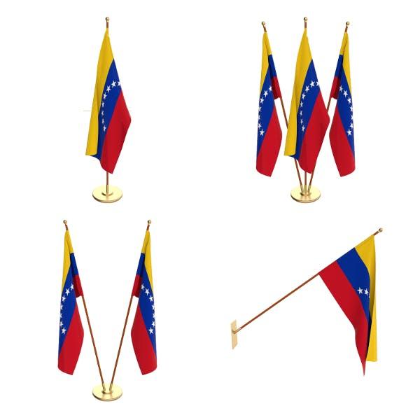 Venezuela Flag Pack - 3DOcean Item for Sale