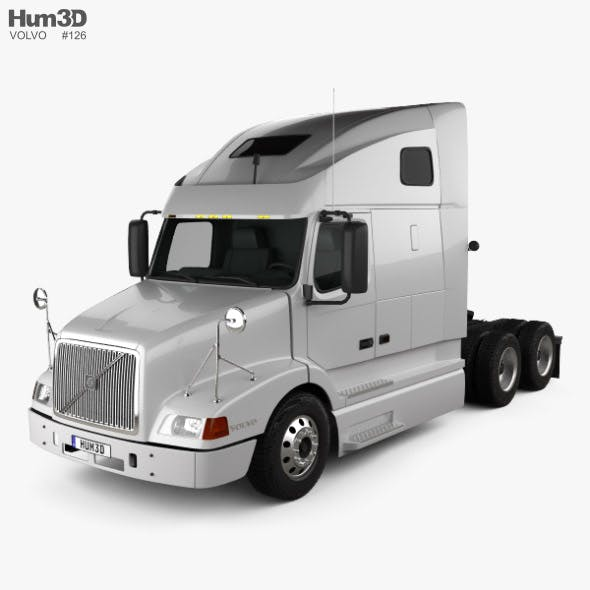 Volvo VNL (670) Tractor Truck 2000 - 3DOcean Item for Sale