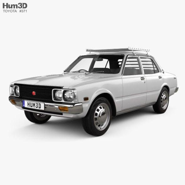 Toyota Corona sedan 1975 - 3DOcean Item for Sale