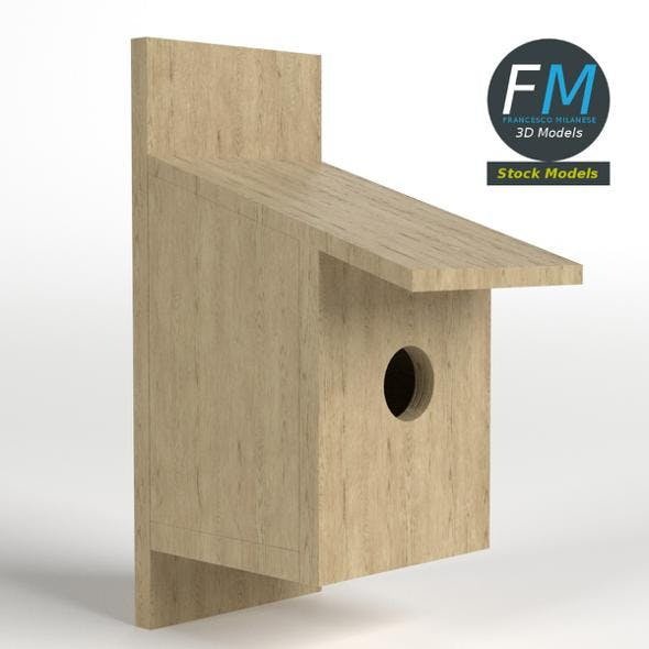 Nest box - 3DOcean Item for Sale