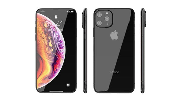 iPhone XI 2019 - 3DOcean Item for Sale