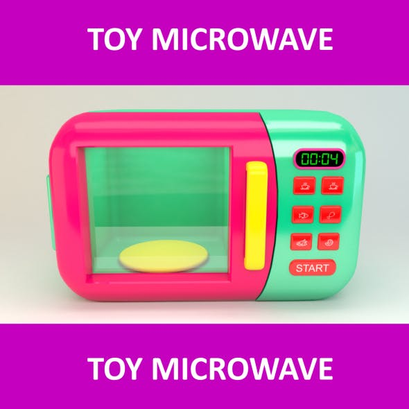 Toy Microwave Animated Counter
