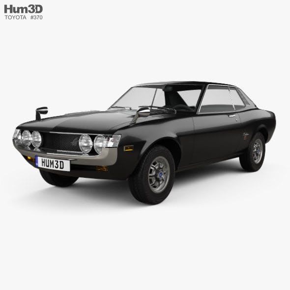 Toyota Celica 1600 GT Coupe 1973 - 3DOcean Item for Sale