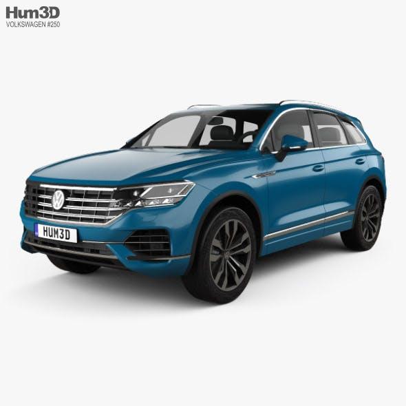 Volkswagen Touareg Elegance 2018 - 3DOcean Item for Sale