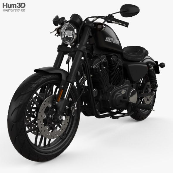 Harley-Davidson XL 1200 CX Roadster 2018 - 3DOcean Item for Sale
