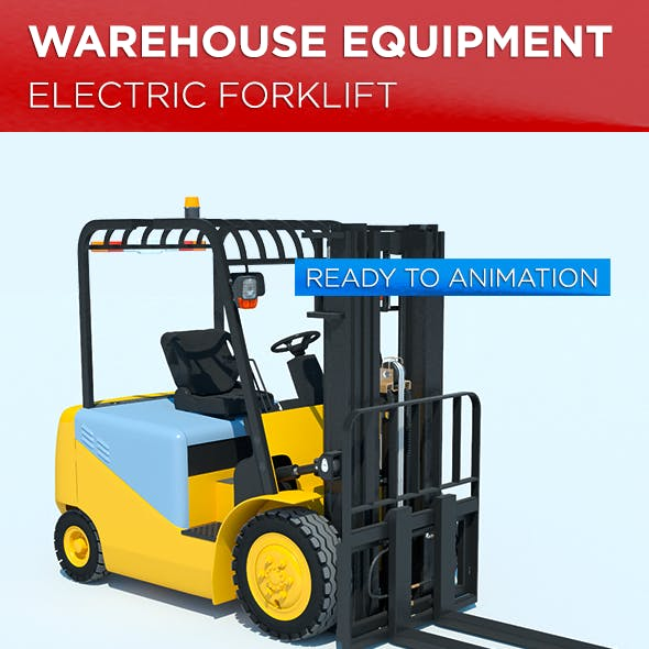 Warehouse Equipment: Electric Forklift