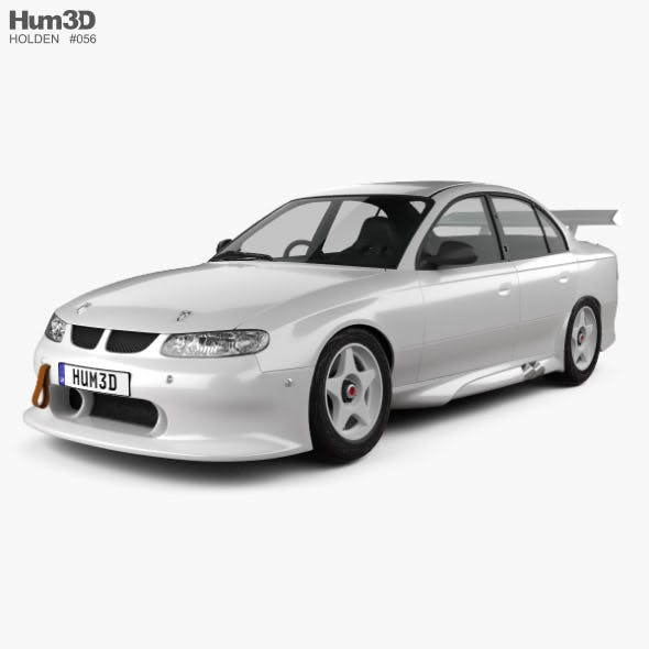 Holden Commodore Race Car sedan 1997 - 3DOcean Item for Sale