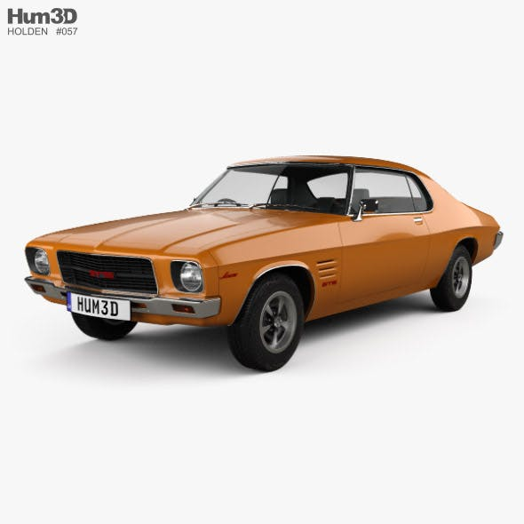 Holden Monaro GTS 350 Coupe 1971 - 3DOcean Item for Sale