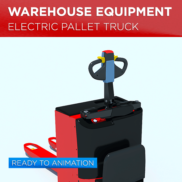 Warehouse Equipment: Electric Pallet Truck