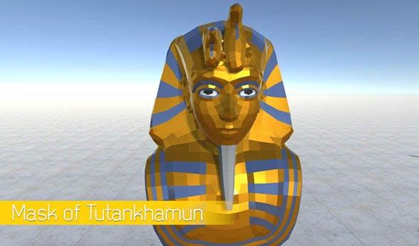 Mask of Tutankhamun - 3DOcean Item for Sale
